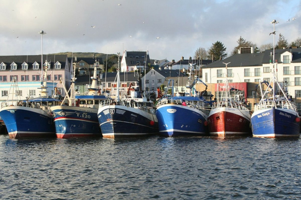 killybegs historic town in County Donegal. Killybegs fishing town County Donegal