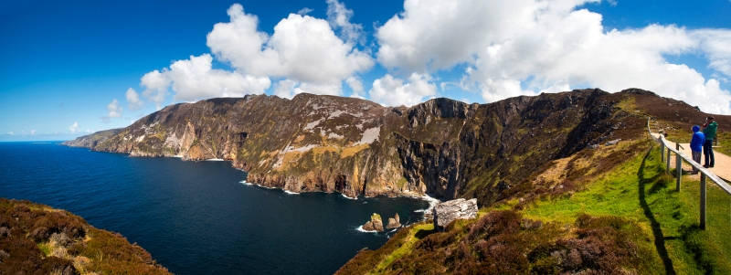 Slieve League, Sliabh Liag cliffs views